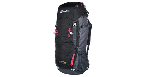 Berghaus Wilderness 65+15 Backpack Black/Carbon